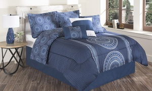 Elite Reversible Comforter Set (6- or 7-Piece)