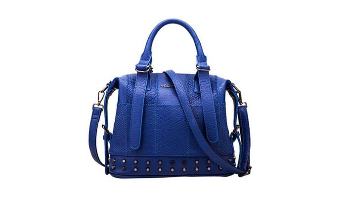 Women's Colorblock Tote Bag