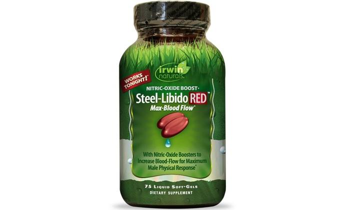 Irwin Naturals Steel-Libido RED Groupon