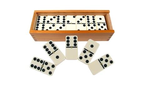 Premium Set of Dominoes w/ Wood Case c590aacd-60bc-46bc-a446-f78dbb0f8770