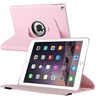 Insten For iPad Air 2 Rotating Folio Flip Stand Case Cover Light Pink