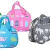 Cute Novelty Printed Insulated Lunch Bag