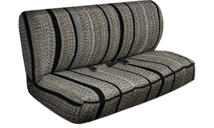 Full Size Heavy Duty Saddle Blanket Car and Truck Bench Seat Cover