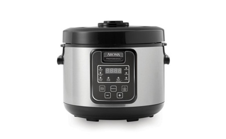 Aroma ARC-1208SB 16 Cup S/S Rice Cooker Slow Cooker Food Steamer photo