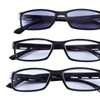 Unisex Reading Eyeglasses with Sunreader - +4.0 Magnification