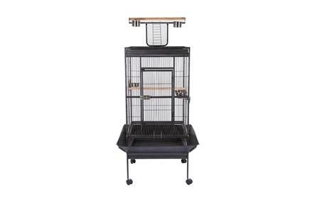 "63"" 68"" Bird Cage Large Play Top Parrot Finch Cage Macaw Cockatoo Pet b2788147-392f-494d-a270-643c5b713ab8"