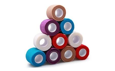 10 Rolls Self-Adhesive Cohesive Wrap Elastic Bandage Tape 2in x 5Yds 4678767b-4141-4867-8cda-cb0e8425b4a1