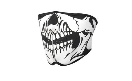 Warm Sport Skiing Skull Snow Snowboard Motorcycle Bike Half Face Mask