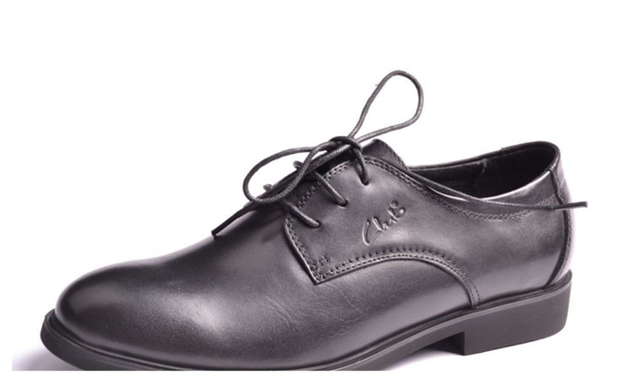 Men's Solid Leather Solid Dress Shoes
