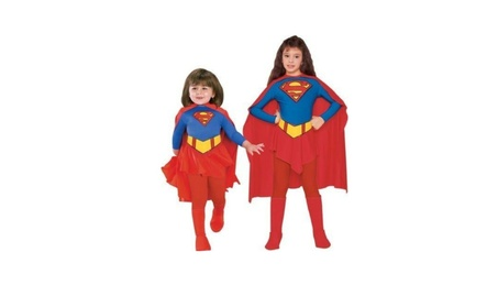 Rubies Costume Co 7127 Supergirl Child Costume Size Small- Girls 4-6 335e0a32-045d-4f3e-abff-5ddeb067d078