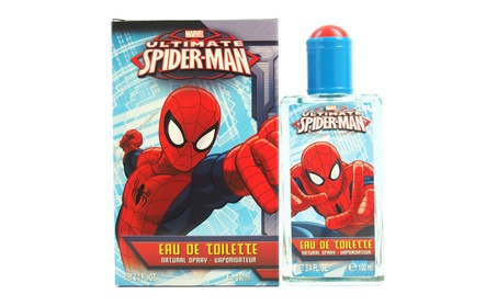 Ultimate Spider Man by Marvel for Kids - 3.4 oz EDT Spray 7c0b2b16-1b40-48bd-b333-867a691cba5d