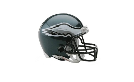 Philadelphia Eagles Replica Mini Helmet w/ Z2B Face Mask 07503285-7215-4241-b853-2cc457ecfc21
