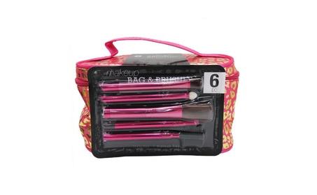 Beautiful Makeup Bag & Brush Set