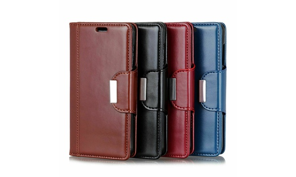 new arrival 21f99 cc528 Magnetic Flip Leather Wallet Case Card Slots Cover Google Pixel 3 ...