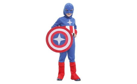 Christmas Children's Superman Cosplay Performance Costume 48c32740-2267-45ed-a4b1-ff1607b1d671