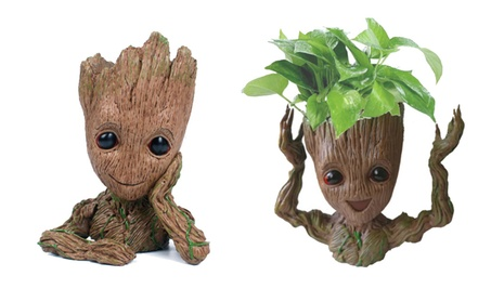 SZX Groot Baby Flowerpot Action Figures Home Decoration Toy 49203229-2842-4089-866f-19196aebfde4