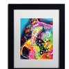 Dean Russo 'Bella' Matted Framed Art