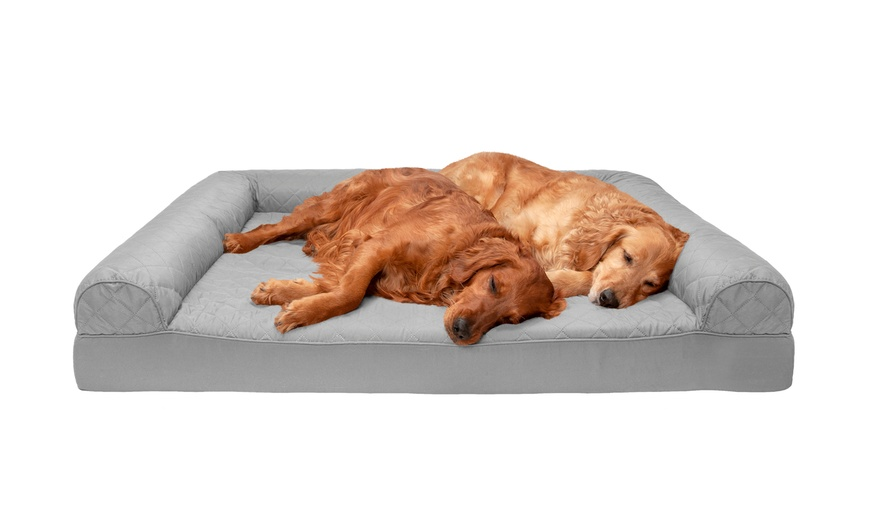 Furhaven Sofa Style Orthopedic Pet Dog Bed Mattress Groupon