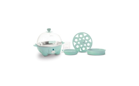 Dash Rapid Egg Cooker, Aqua 553fb39f-18d1-4e89-a2ac-66cfec045252