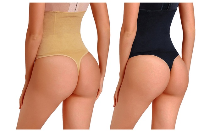 c80d01aa9053b Women s Thong Shapewear Waist Cincher Body Shaper Tummy Control Panty