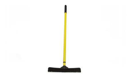 FURemover Broom with Squeegee made from Natural Rubber, Multi-Surface 35245291-a009-41da-b09d-4bcc8620d940
