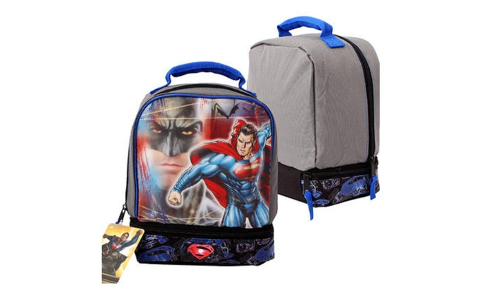Batman Drop Bottom Lunch Bag – 9.5″H