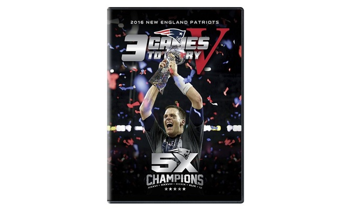 3 Games to Glory DVD
