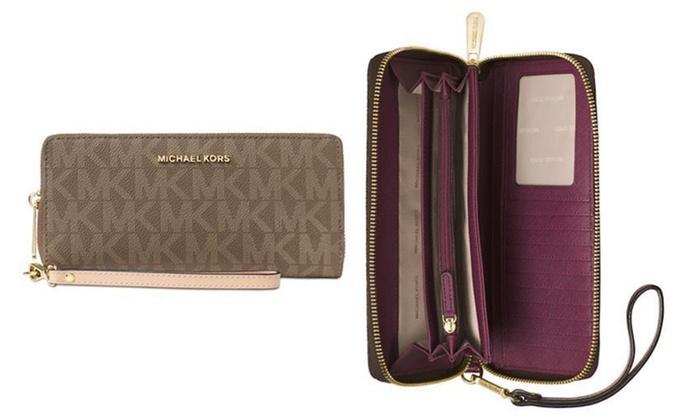 MICHAEL Michael Kors Jet Set Item Travel Continental Wallet