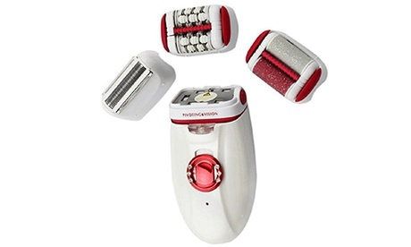 Women's 3 In 1 Epilator, Shaver And Callus Removal Tool Kit Grooming Kit 04415139-2e94-4e5e-b2b4-be13d0b013b1
