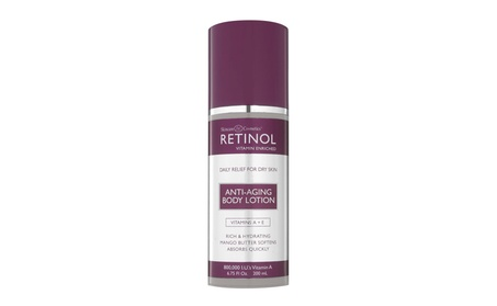 Retinol Anti-Aging Body Lotion Relief For Dry Skin