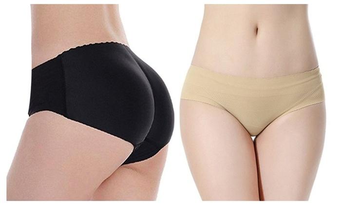 8f681447c429 Women Shapewear Buttock Padded Seamless Underwear Enhancer Panty ...