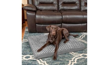 Ultra Plush Deluxe Cooling Memory Foam Pet Mattress Dog Bed
