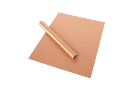 Outdoor BBQ Copper Chef Grill Bake Mats Reusable Non-stick 885e3add-d6f4-48b5-a602-a63e75f27d3c