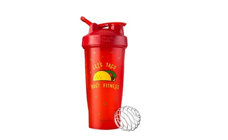 Special Edition 28 oz. Shaker with Loop Top - Taco 'Bout fitness