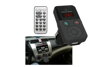 Wireless Bluetooth FM Transmitter Modulator Car Kit MP3 Player Remote bdb87eba-e146-4fd5-a0b0-d3a12b3693cd