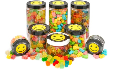 CBD Gummy Bears from Happy Hemp - Multiple Options