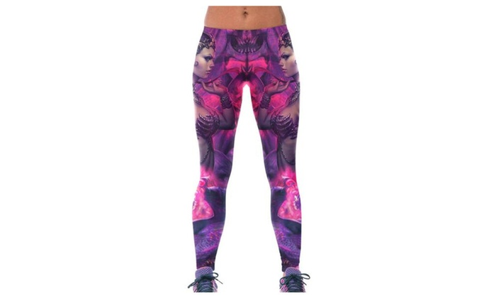 Women Simple Casual Floral Printed Waterproof Straight Pants - As Picture / One Size