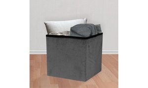 Sorbus Storage Ottoman Cube-Foldable/ Collapsible