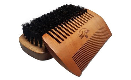 Dry/Wet Beard Brush and Comb Set for Men eec9ccaa-361b-445b-a825-bd81e2edf785