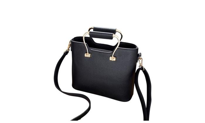 67dc0353cbc Retro Trendy Large Capacity Women s Hand Tote Bag   Groupon