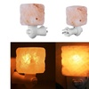 Exquisite Square Mosaic Natural Himalayan Rock Salt Wall Lamp