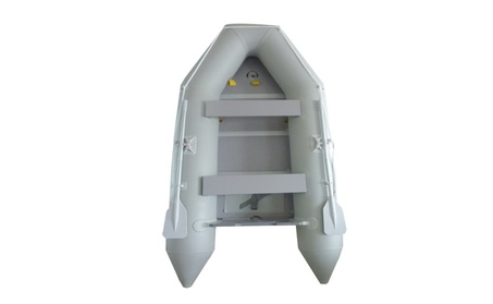New 1.2mm PVC 10.5' Inflatable Boat Tender Raft Dinghy With Floor Gray 24075547-7eff-4b34-bd11-c9e3e962d59c