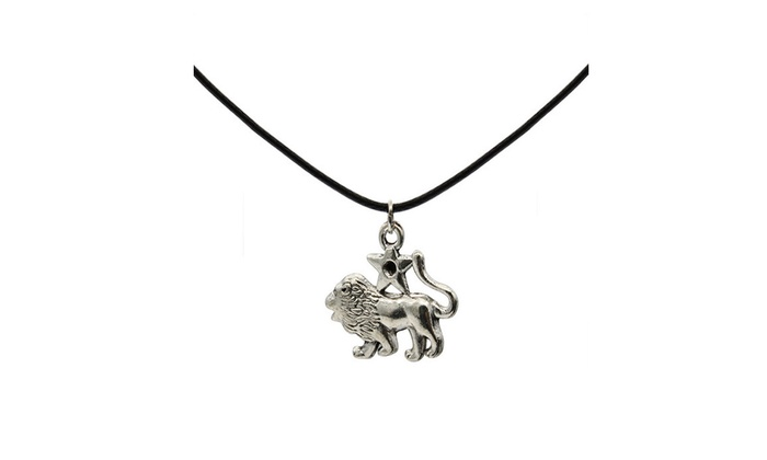 Vintage Silver The Zodiac Signs Pendant