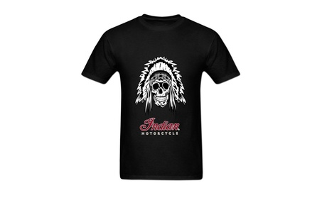 Yaping Adult Indian Motorcycle Short Sleeve T Shirt edc5fb65-60de-4a5d-80f5-51e60dbf8ad0