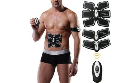Premium Muscle Toner EMS Muscle Stimulator, Abdominal Toning Belt, Body Fitness 6ed94a9d-f399-455f-a371-45c6cfdf6f8f