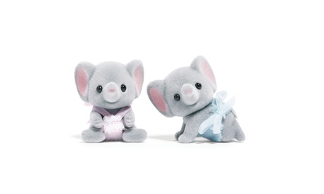 International Playthings - Calico Critters - Ellwoods Elephant Twins 6dd4e02a-39ee-44df-a4e1-8b5a81e1453c