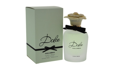 Dolce Floral Drops by Dolce & Gabbana for Women - 1.6 oz EDT Spray f505d2ab-71a2-4480-8204-4a8faf6a1afd