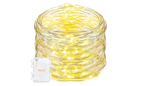 9.8ft 60 Leds String Lights Led Starry Silver Wire Rope Lights e43799e4-4a53-403c-81b5-f8b6867f3498