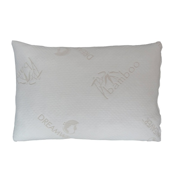 US Made Shredded Memory Foam Pillow with Bamboo Cover