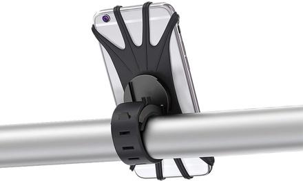 Bike Phone Mount 360 Rotation Adjustable Silicone Bicycle Phone Holder
